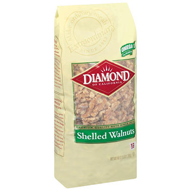 Diamond� Shelled Walnuts - 48 oz.