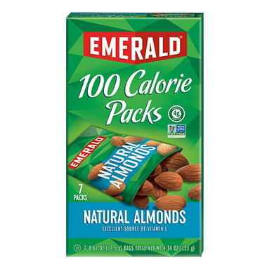Emerald® 100 Calorie Pack All Natural Almonds - 7 pks./box