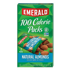 Emerald® 100 Calorie Pack All Natural Almonds - 7 pks./box