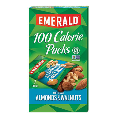 Emerald� 100 Calorie Pack Walnuts and Almonds - 7 pks./box