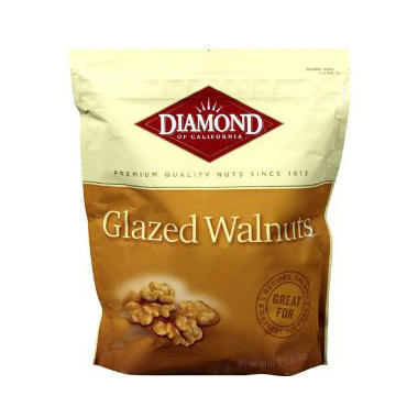 Diamond® Glazed Walnuts - 28oz