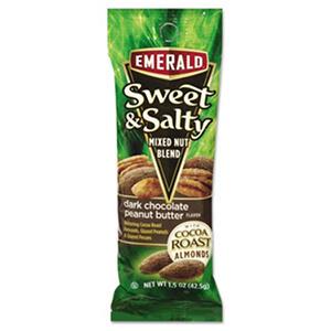 Emerald Sweet & Salty Mixed Nut Blend, Dark Chocolate Peanut Butter Flavor (1.5 oz. pk., 12 ct.)