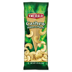 Emerald Cashew Pieces (1.25 oz. tube package, 12 pk.)