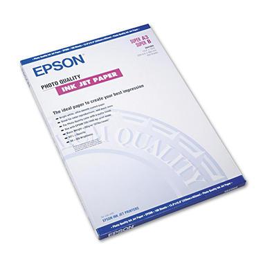 Epson Matte Presentation Paper, 27 lbs., Matte, 8-1/2 x 11, 100 Sheets per Pack