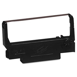 Epson - ERC38BR Ribbon -  Black/Red