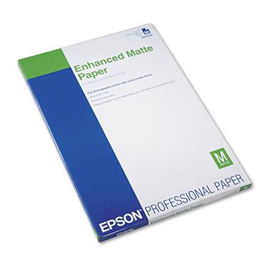 Epson Ultra Premium Matte Presentation Paper, 13 x 19, White - 50/Pack