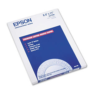 "Epson - Ultra Premium Photo Paper, Inkjet, 8-1/2 x 11"", Luster - 50 Sheets"