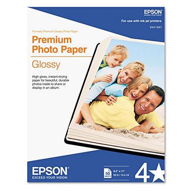 Epson Premium Photo Glossy InkJet Paper