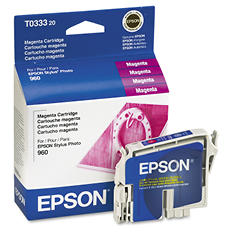 Epson T033 Series Inkjet Printer Cartridges