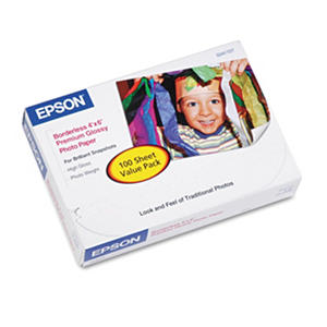 Epson Borderless Premium Glossy Photo Paper