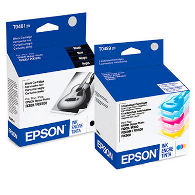 Epson T0481-9-SV Black/Color Ink Multipack