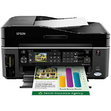 Epson WorkForce 615 Wireless All-In-One Printer