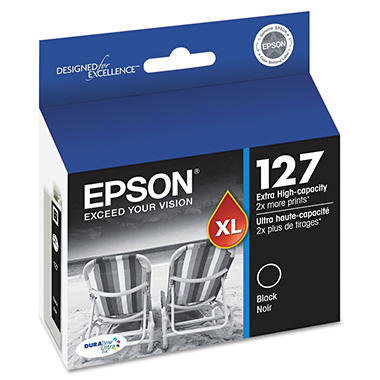 Epson DuraBrite 127 Extra High-capacity Ink Cartridge - Black
