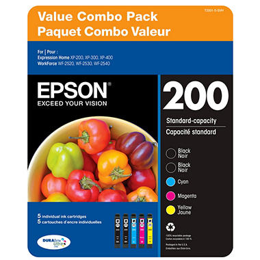 Epson DuraBrite Extra High-capacity Ink Cartridge - Color Multi-pack