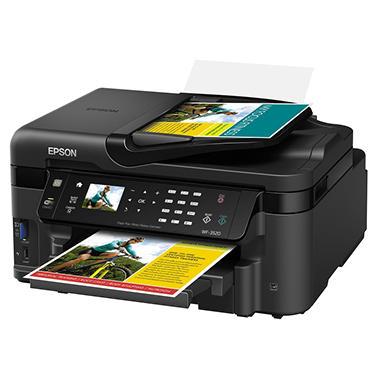Epson WorkForce WF-3520 Wireless All-in-One Printer