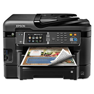 Epson WorkForce WF-3640 Inkjet All-in-One Printer