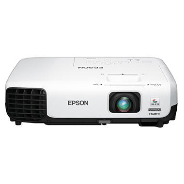 Epson - VS335W 3LCD Projector - WXGA 1280x800, 2700Lm