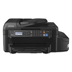Epson - WorkForce ET-4550 EcoTank Inkjet All-in-One Printer -  Copy/Fax/Print/Scan