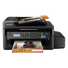 Epson - WorkForce ET-4500 EcoTank All-in-One Inkjet Printer -  Copy/Fax/Print/Scan