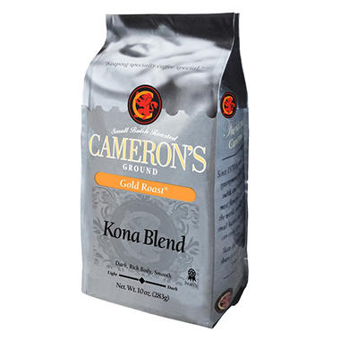 Cameron's Gold Roast Kona Blend Ground Coffee - 3 pk. - 10 oz.