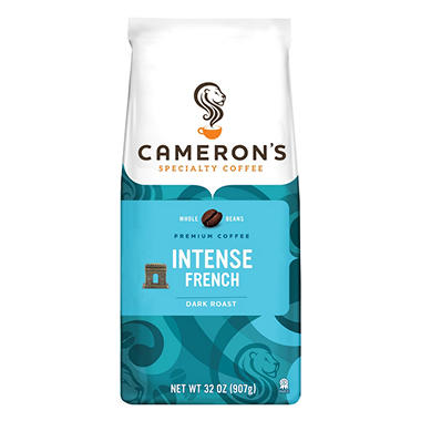 Cameron's Intense French Whole Bean Coffee - 2 lbs.