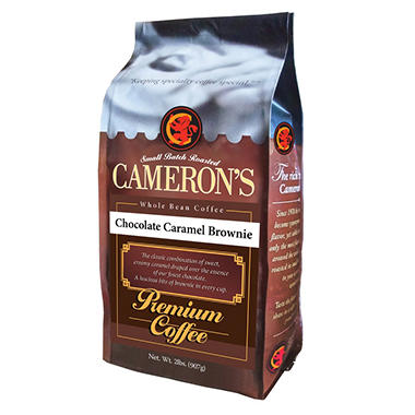 Cameron's Chocolate Caramel Brownie Whole Bean Coffee - 2 lbs.