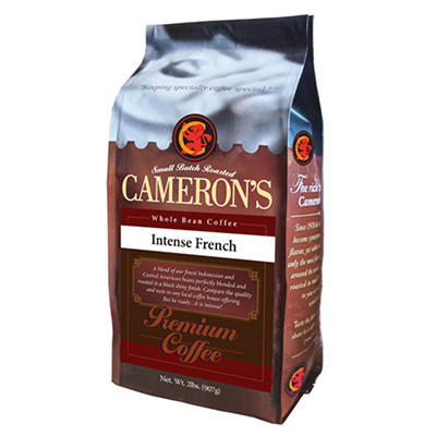 Cameron's Intense French Premium Whole Bean Coffee - 2 lbs.