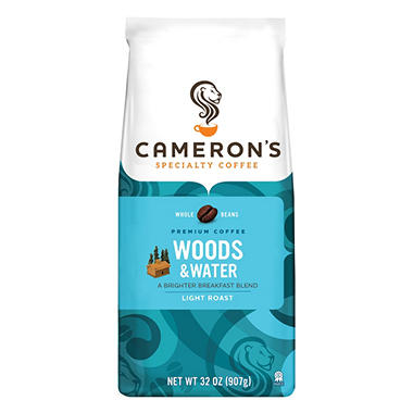 Cameron's Woods and Water Whole Bean Coffee - 2 lbs.