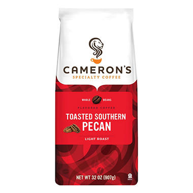 Cameron's Toasted Southern Pecan Premium Whole Bean Coffee - 2 lbs.