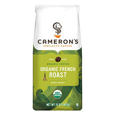 Cameron's Organic French Roast Whole Bean Coffee - 2 lbs.