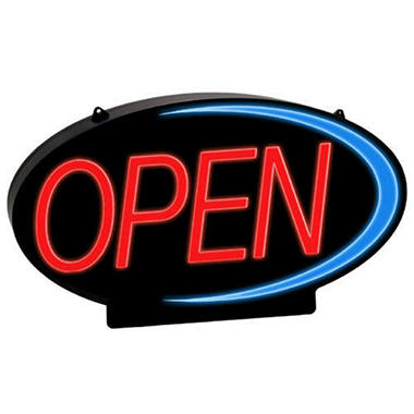 NEWON LED Open Sign - Full Color Accent