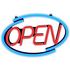 Newon - LED Multi-Color Open Sign