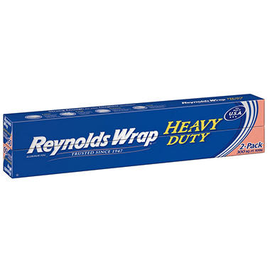 Reynolds Wrap Heavy Duty Aluminum Foil, 150 sq. ft (2 ct.)
