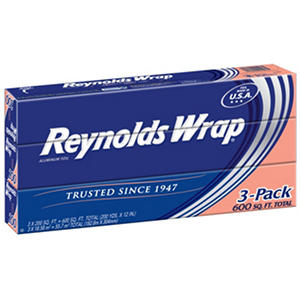"Reynolds Wrap 12"" Standard Foil, 200 sq. ft. (3 ct.)"