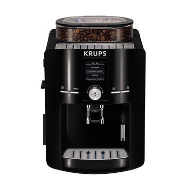 krups ea80 fully automatic espresso machine with built in. Black Bedroom Furniture Sets. Home Design Ideas