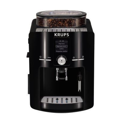 Coffee Maker Built In Burr Grinder : KRUPS EA80 Fully Automatic Espresso Machine with Built-in Conical Burr Grinder - Sam s Club