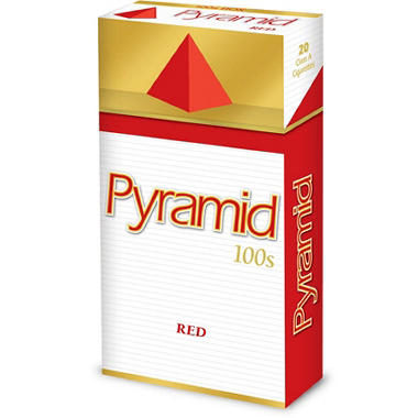 Pyramid Red 100s Box - 200 ct.