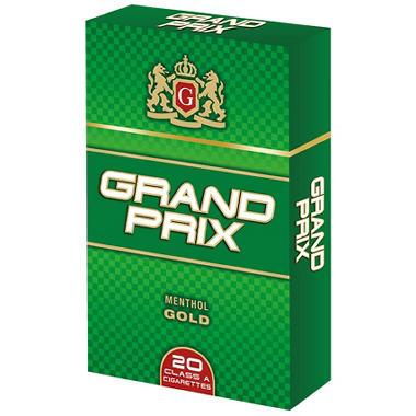 Grand Prix Menthol Gold Box - 200 ct.