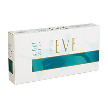 Eve Menthol Turquoise 120s Box - 200 ct.