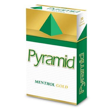 XX-Pyramid Menthol Gold Box - 200 ct.