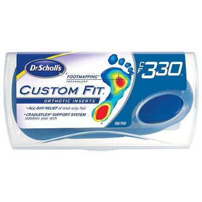 Dr. Scholl's Custom Fit Orthotic Insert - CFO 330