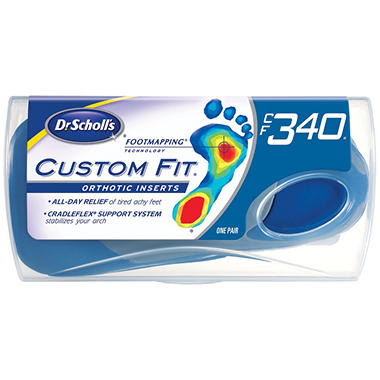 Dr. Scholl's Custom Fit Orthotic Insert - CFO 340