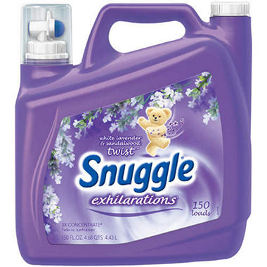 Snuggle� Exhilarations� Fabric Softener - 150oz