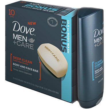 Dove Men+Care Bar Bonus Pack