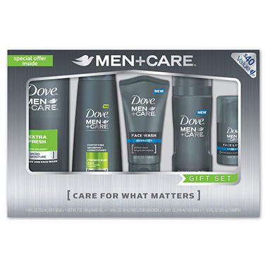 Dove Men + Care 5 Pack Gift Set