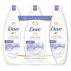 Dove Nourishing Body Wash, Winter Care (24 oz., 3 pk.)