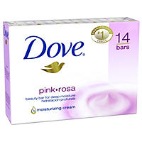 Dove Beauty Bar, Pink (4 oz., 14 bars)
