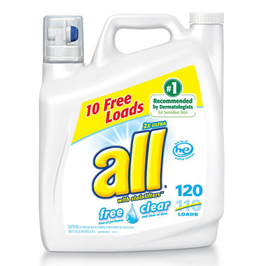All® Free Clear Laundry Detergent