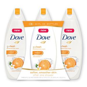 Dove Go Fresh Revitalize Body Wash, Mandarin & Tiare Flower (24 fl. oz., 3 pk.)