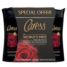 Caress Bodywash with Frangrance Touch Technology, Love Forever (13.5 fl. oz., 3 pk.)